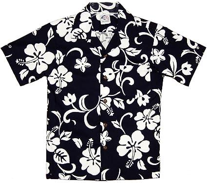 6ade56d5f Amazon.com: RJC Boys Classic Hibiscus Shirt: Button Down Shirts: Clothing