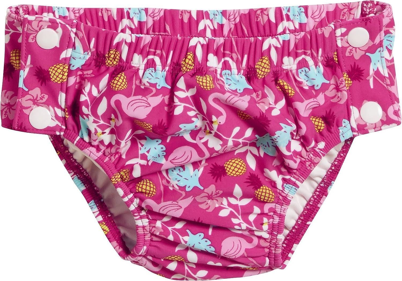 Playshoes UV-Schutz Windelhose Flamingo Zum Knöpfen, pañal de natación para Bebés 461199