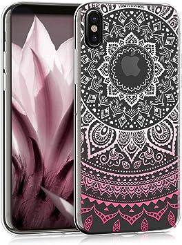 Apple Pelle Custodia Cover per Apple iPhone x o XS-Rosa fucsia