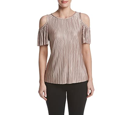 a2fcd441dca52 MSK Cold-Shoulder Top XX-Large at Amazon Women s Clothing store