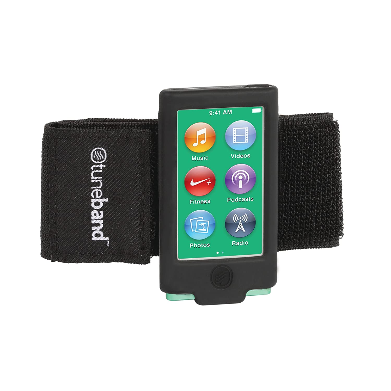 Amazon.com: TuneBand for iPod nano 7th Generation / 8th Generation (Model  A1446, 16 GB), Premium Sports Armband with Two Straps and Two Screen  Protectors, ...