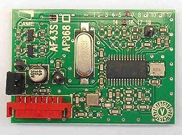 Tarjeta de radio Came. 433,92 MHz.: Amazon.es: Bricolaje y ...