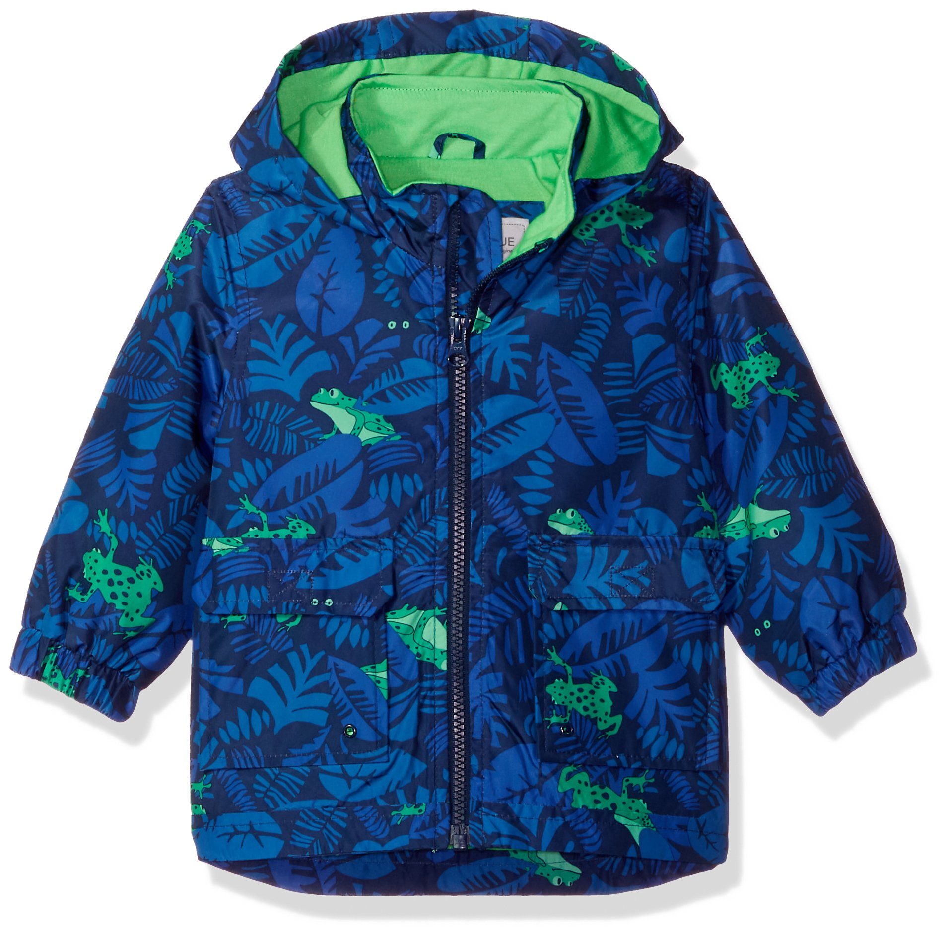 Carter's Baby Boys His Favorite Rainslicker Rain Jacket, Jungle Frog, 12M by Carter's