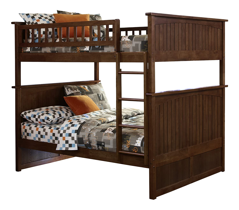 Amazing Amazon.com: Nantucket Bunk Bed, Full Over Full, White: Kitchen U0026 Dining
