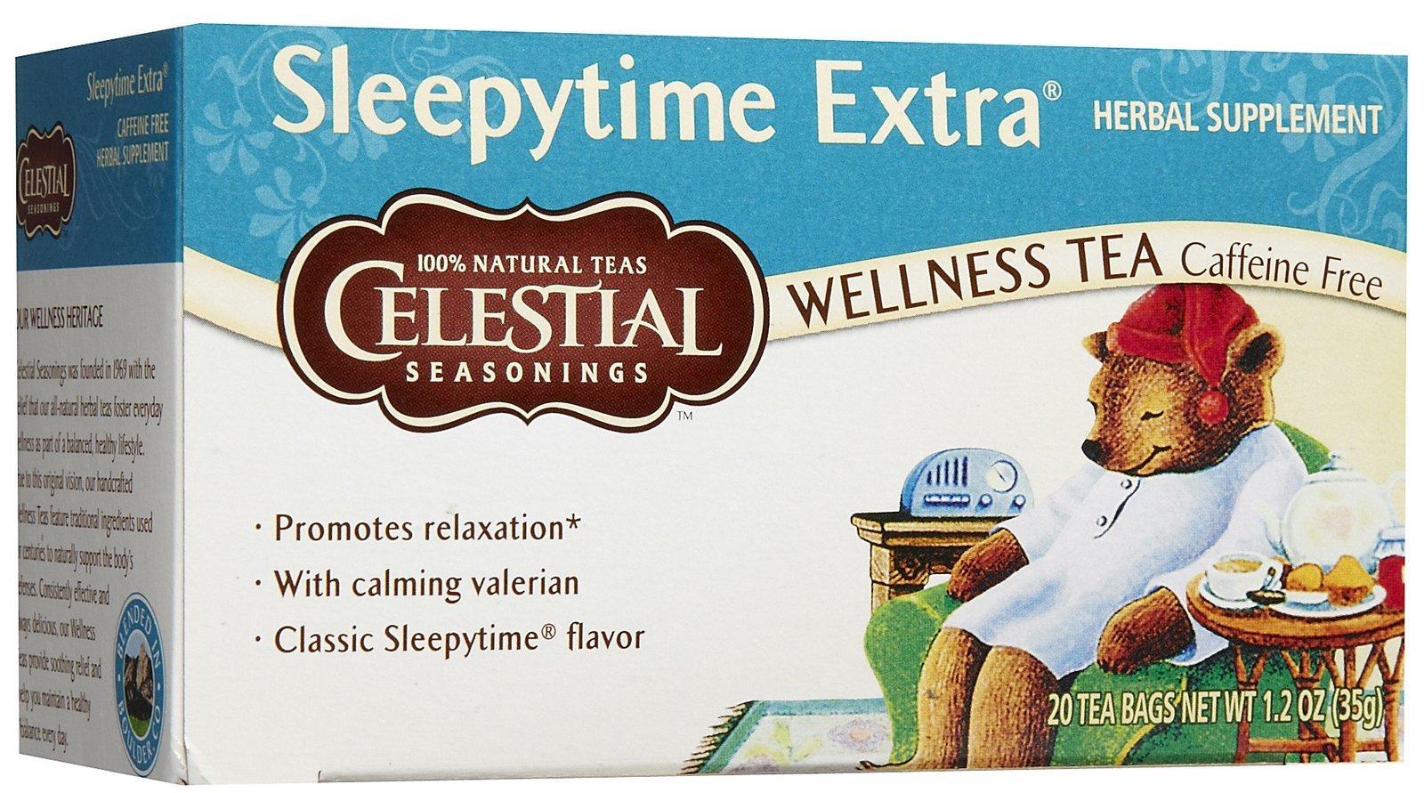 Celestial Seasonings Herb Tea Sleepytime Extra 20 Bag