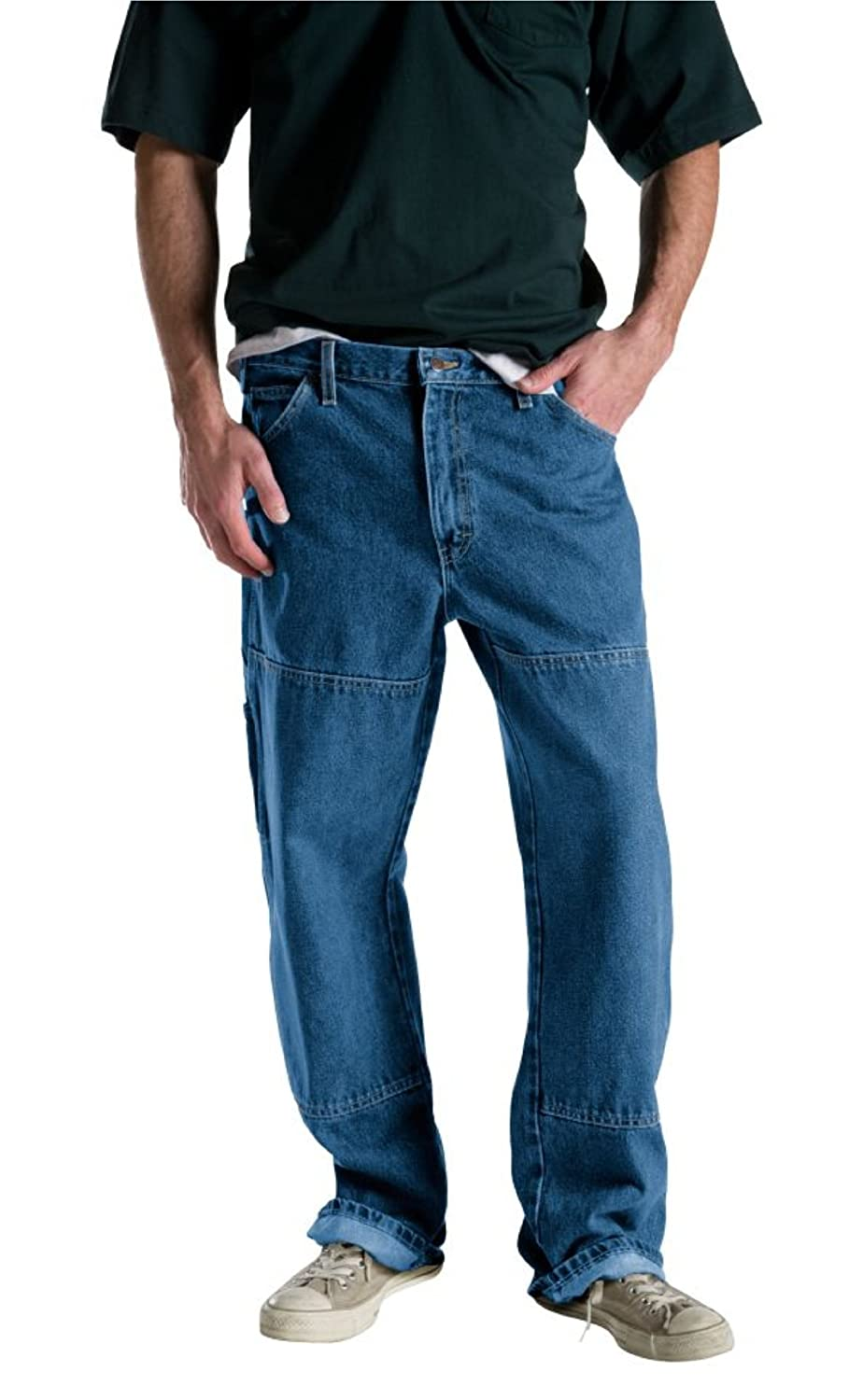 137700aabaf Dickies Men's Relaxed-Fit Double-Knee Carpenter Jean