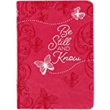 Be Still and Know: 365 Daily Devotions (Imitation/Faux Leather) – Motivational Devotionals for People of All Ages, Perfect Gi