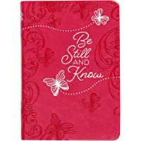 Be Still and Know: 365 Daily Devotions (Imitation/Faux Leather) – Motivational Devotionals for People of All Ages…