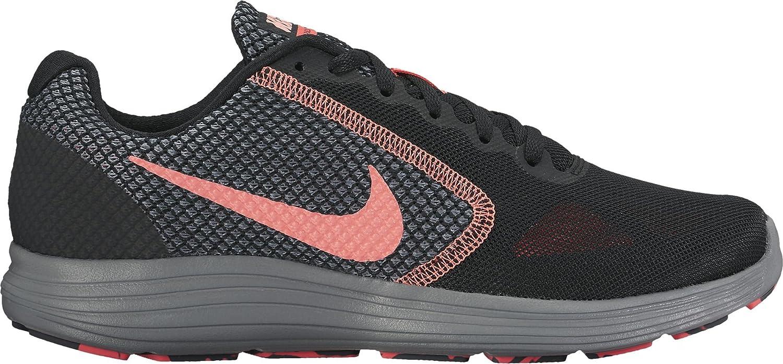 NIKE NIKE NIKE Damen 819303 Sneakers Mehrfarbig (schwarz / Lava Glow / Hot Punch / Cool Grau) ef1710