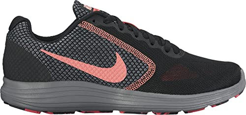 a9e9d7846b17 Nike Women s WMNS Revolution 3 Black Lava Glow Running Shoes-4 UK India