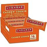 Larabar Cashew Cookie, Gluten Free Vegan Fruit & Nut Bar, 1.7 oz, 16 Ct