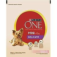 Purina ONE DD My Dog Is Delicate salmpurina One con arroz 800g–8Unidades