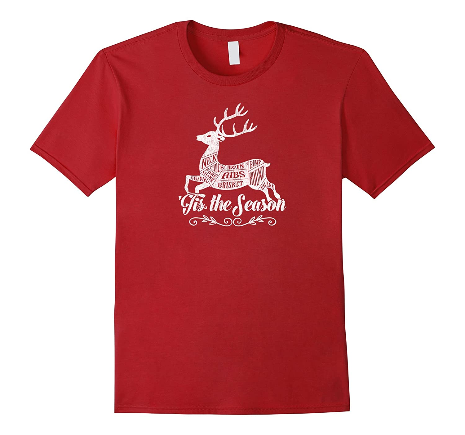 'Tis the Season Christmas Tshirt Great Gift for Hunter-T-Shirt