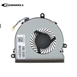 Replacement CPU Cooling Fan Compatible with HP 250 G4 255 G4 15-AC 15-AF 15-AC622TX 15-ac032no 15-ac033no 15-ac042ur 15-ac121dx 15-ac029ds 15-ac120nr 15-ac137cl 15-ac023ur Series (4-Pin 4-Wire)