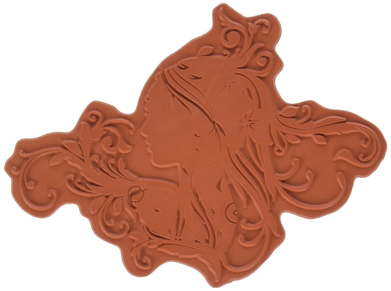 IndigoBlu Cling Mounted Stamp, 7x4.75-Inch, Ella Bella EBI
