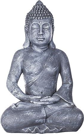 Buda B4001, para interior y exterior, figura de Buda XXL 64 cm de alto, Buda Estatua