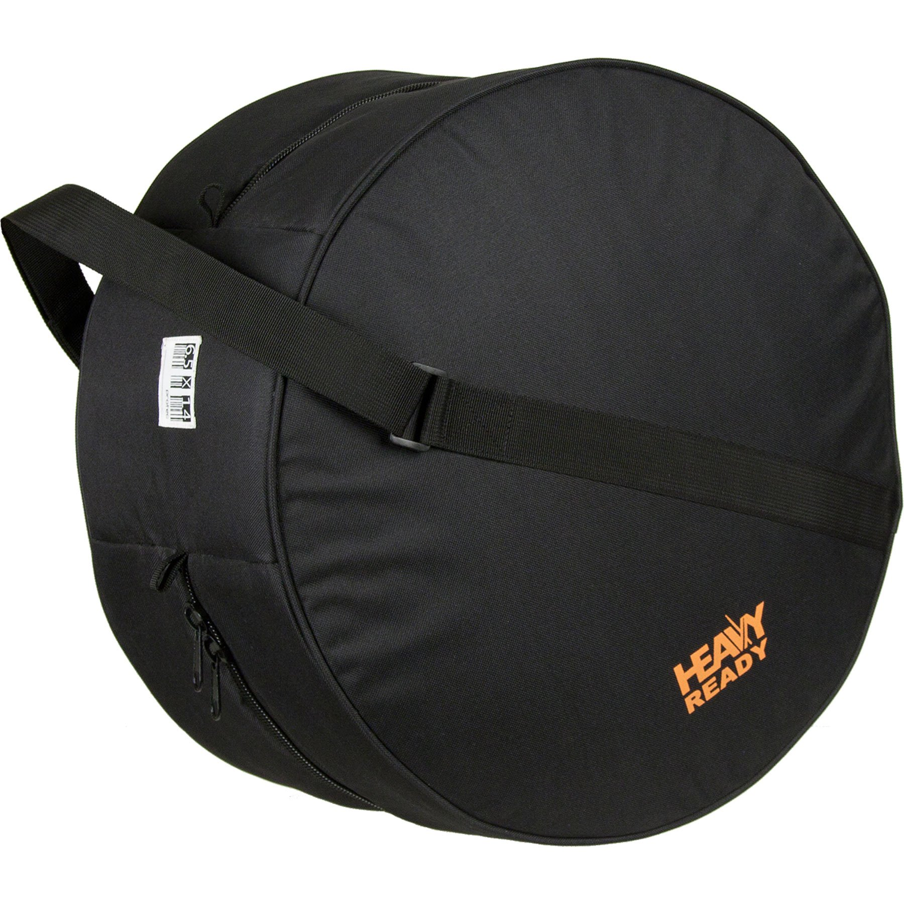 """Heavy Ready 6.5 x 14"""" (Height x Diameter) Padded Snare Bag by Protec, Model HR6514"""