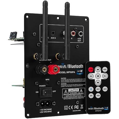 Amazon.com: Dayton Audio WF60PA 60W Class D Full-Range 2.1 ...
