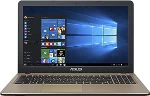 ASUS X540SA-XX004T - Portátil de 15.6 Pulgadas (Intel Celeron N3050, 4 GB de RAM, Tarjeta Grafica integrada) Negro Chocolate - Teclado QWERTY español