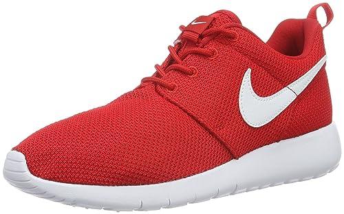 buy popular e10f1 5bc9f Nike Mens Roshe One (Gs) running Shoes, Red (605 UNIVERSITY RED