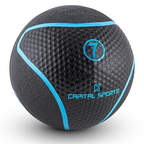 Capital Sports Medba 7 Balón Medicinal 7kg (Adecuado para ...
