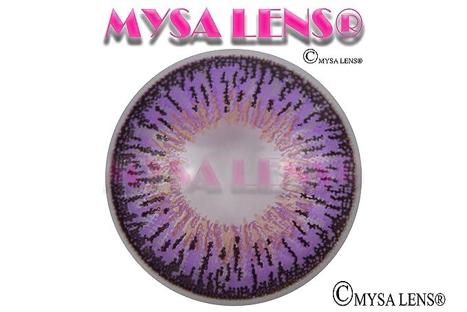 Lente de contacto de color fantasía Crazy Lens Cosplay