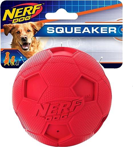 Nerf Perro fútbol Squeak Pelota para Perros, tamaño Grande, Color ...