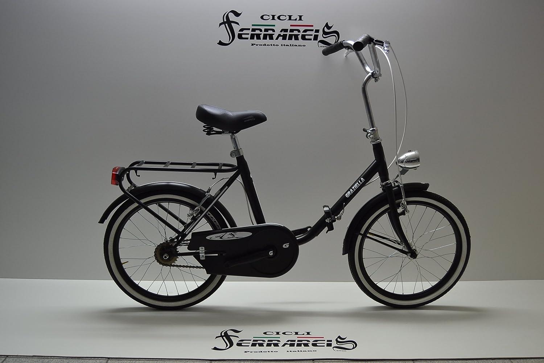 Bicicleta de paseo plegable Graziella, para hombre y mujer, 20 ...