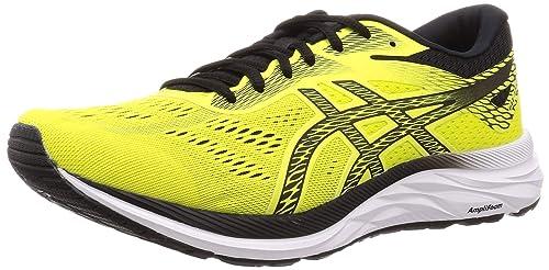 Asics Gel-Excite 6, Zapatillas de Running para Hombre, Amarillo (Sour Yuzu/Black 750), 46 EU: Amazon.es: Zapatos y complementos