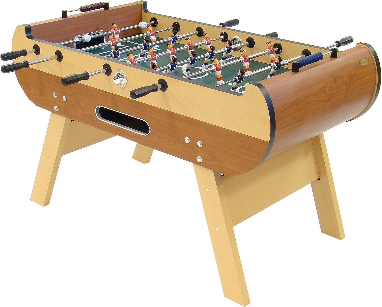 Gamesson Milano Mesa fútbol Wooden,140x 76 x 86 cm: Amazon.es: Deportes y aire libre