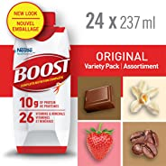 Boost Original Variety Pack, 24 Count, 6x237ml - PACKAGING MAY VARY