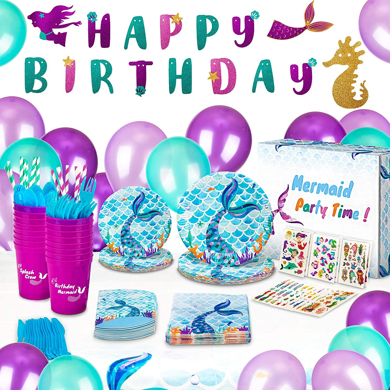 10 pcs First Birthday Favors, Mermaid Party Mermaid Birthday Frame Personalized Baby Frame Mermaid First Birthday Mermaid Favors