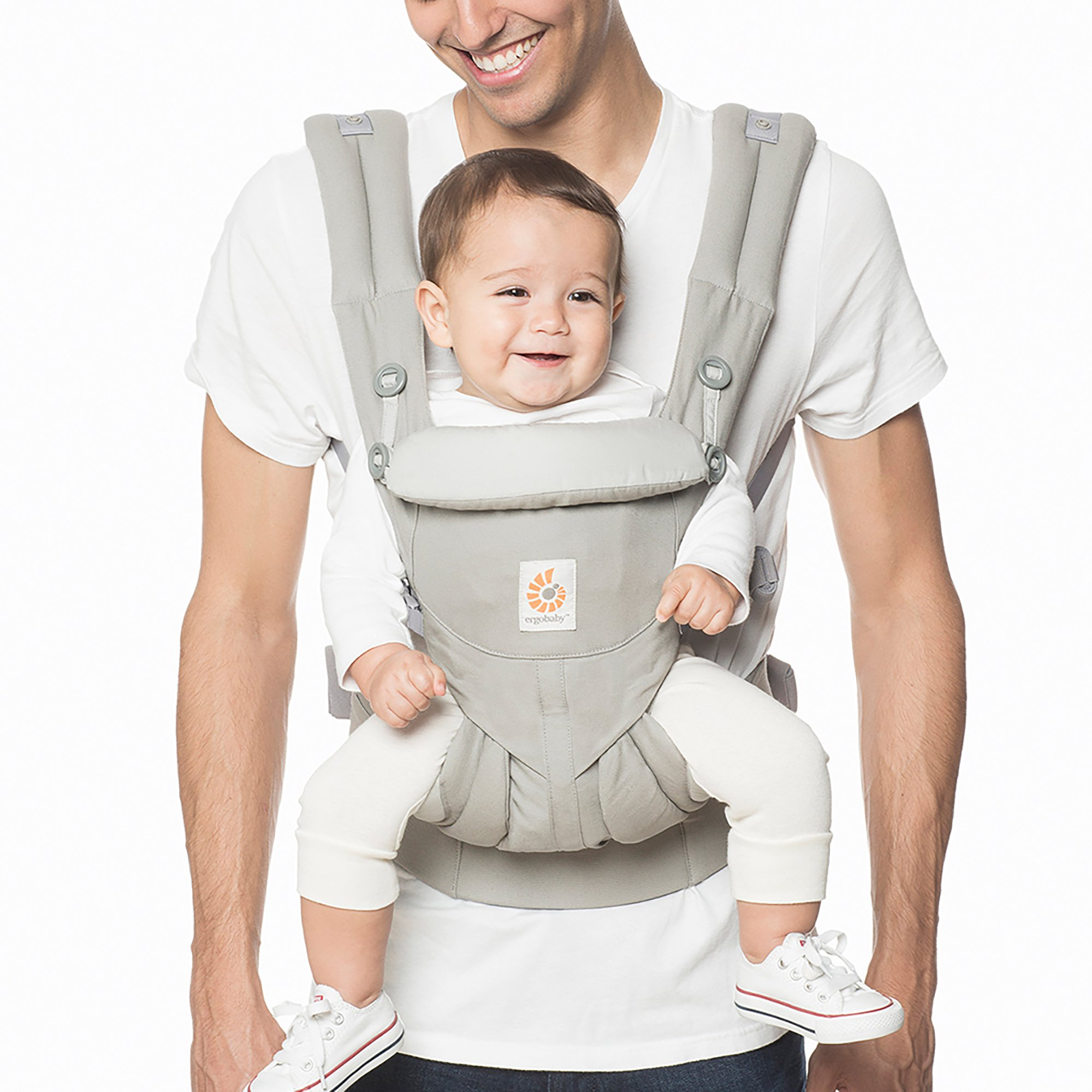 Ergobaby Omni 360 All-in-One Ergonomic Baby Carrier (Pearl Grey)