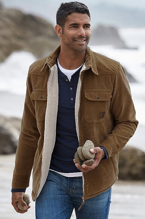 Overland Sherpa-Lined Corduroy Shirt Jacket