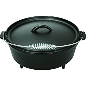 Ozark Trail 5 quart Dutch Oven with Lid, Perfect for Camping or Home Use