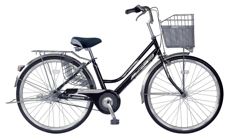 CHACLE(チャクル) 軽くて パンクしない自転車 軽快SW ベルトドライブ 内装3段仕様[BAA適合車/ステンレスハンドル/8倍明るいLEDオートライト/光るパーツ] FQ-CC273SW-BD-HDR-BAA B06VXXGMN2ブラック 26インチ