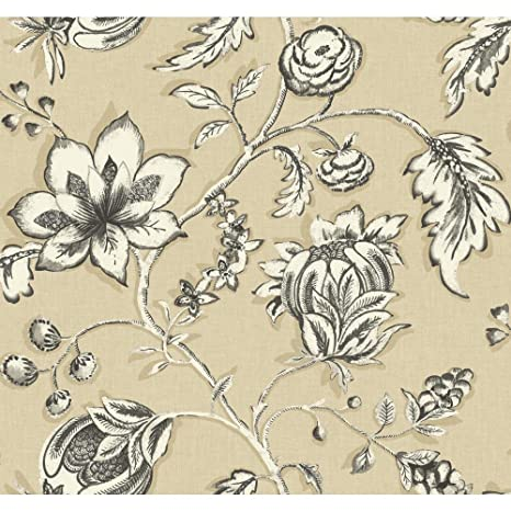 York Wallcoverings Modern Shapes Jardin Removable Wallpaper