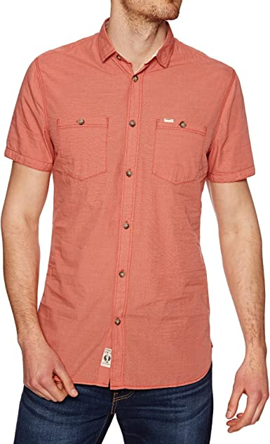 ONeill - Camisa Casual - para Hombre Rojo 3077 Aurora Red Medium: Amazon.es: Ropa y accesorios