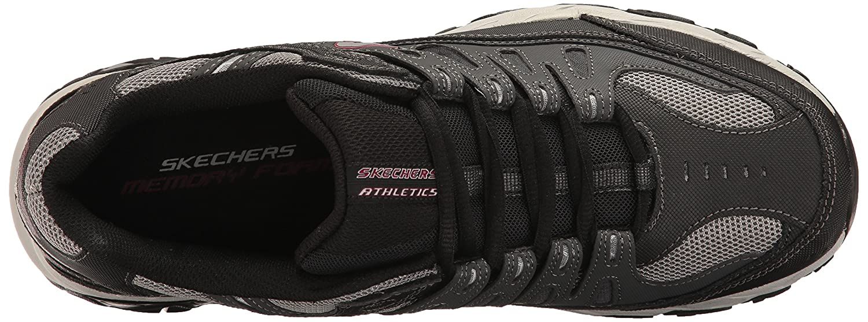 Skechers-Afterburn-Memory-Foam-M-fit-Men-039-s-Sport-After-Burn-Baskets-Chaussures miniature 45
