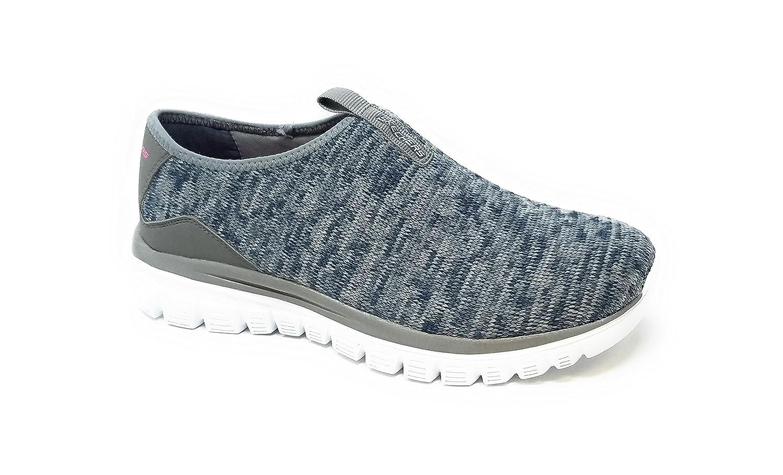 Skechers Sport Women's Empire Inside Look Fashion Sneaker B07CVPSPM8 9 B(M) US|Gray