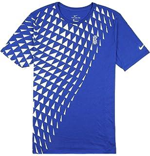 32a6c587e4a NIKE Men's Kyrie Art 1 T-Shirt Large Game Royal Blue White Size Large