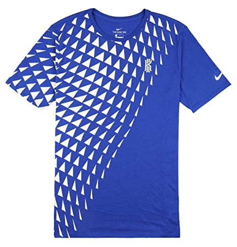 the latest 022f3 c77b4 Amazon.com  NIKE Men s Kyrie Art 1 T-Shirt Large Game Royal Blue White Size  Large  Sports   Outdoors