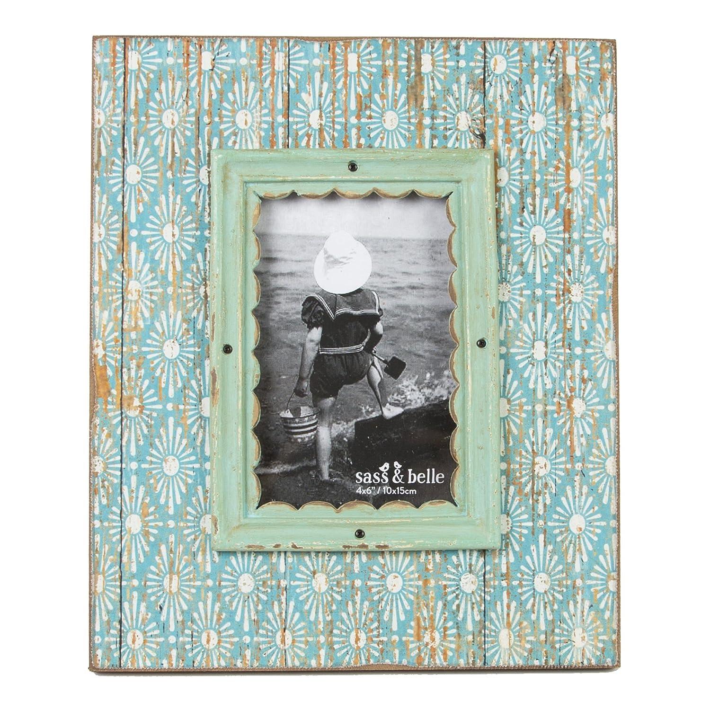 Amazon.de: Sass & Belle Modern Morocco Essaouria Holz Bilderrahmen ...