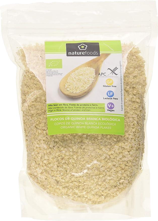 Naturefoods Copos de Quinoa Blanca Ecológica - 400 gr