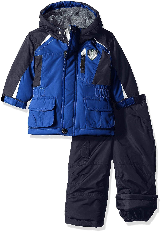 London Fog Baby Boys Jacket & Ski Pant 2-Piece Snowsuit L2186S20