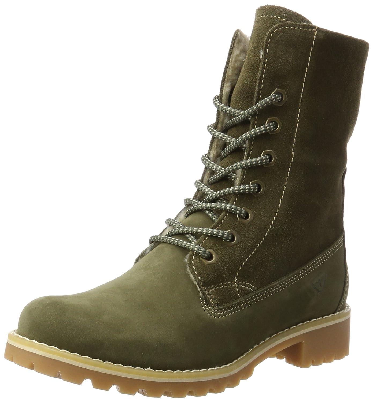 Tamaris 26443, Botas Militar para Mujer39 EU Verde (Olive)