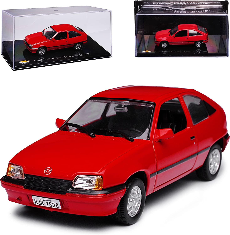 Opel Chevrolet Corsa B Rot 3 Türer 1993-2000 1//43 Ixo Modell Auto mit oder ohn..