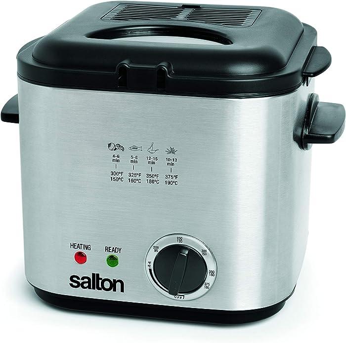 Top 10 Salton Compact Deep Fryer