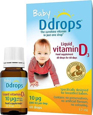 H's vitamin D drops 0-6 months