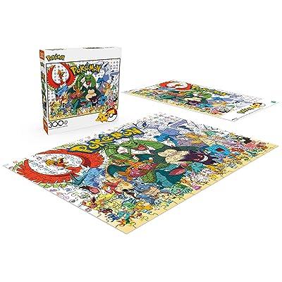 BUFFALO GAMES ENTERTAINMENT COLLECTION PUZZLE POKEMON FAN FAVORITES 300 PC #2907